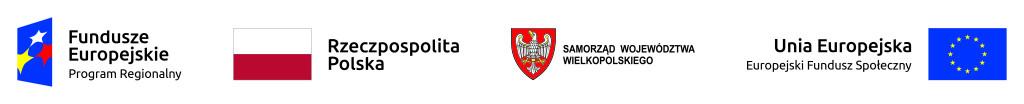 Loga EFS oraz Samorządu Wielkopolskiego