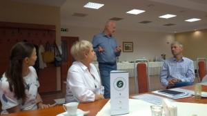 Zdjęcie ze spotkania partnerskiego